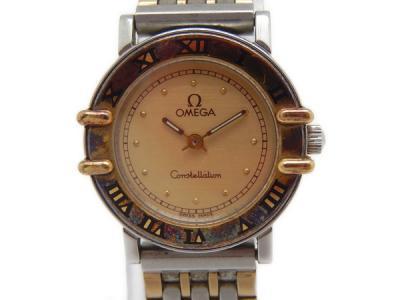 OMEGA オメガ コンステレーション アンティーク レディース 時計 金 コンビ シャンパン文字盤