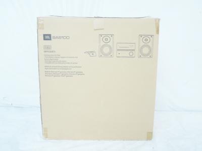 JBL SAS100 2Way ペア スピーカー システム