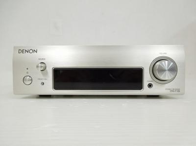 DENON デノン DRA-F109-SP フルデジタル パワー アンプ FM・AMレシーバー プレミアムシルバー