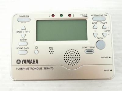 YAMAHA ヤマハ TDM-75R チューナー メトロノーム