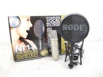 RODE NT1-A コンデンサー マイク 1インチ 卓上スタンド
