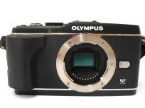 OLYMPUS オリンパス OLYMPUS PEN E-P3 B カメラ ミラーレス一眼 ボディ ブラック