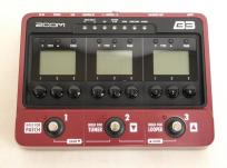 ZOOM B3 ベース マルチ エフェクター アンプシミュレーター 楽器 ベース エフェクター(ベース用) マルチエフェクター