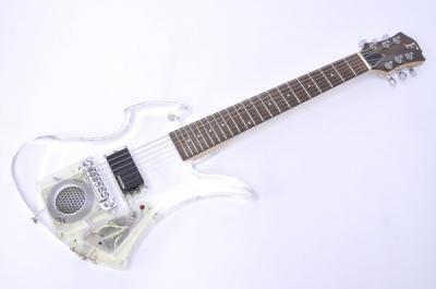 FERNANDES CRYSTAL Jr X JAPAN hide アンプ内蔵 モッキンバード 楽器 エレキギター フェルナンデス ミュージシャンモデル