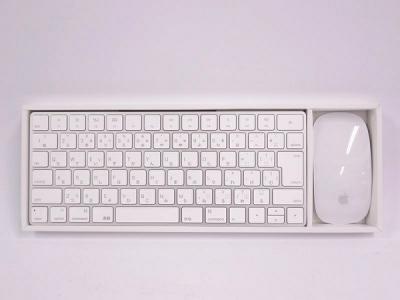 Apple Magic Mouse 2 MLA02J/A + Magic keyboard MLA22 マウス・キーボード・入力機器 キーボード その他