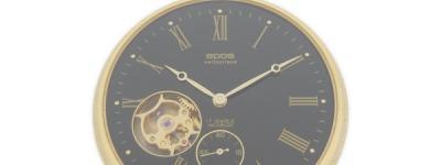 EPOS  エポス シースルーバック 2090GPBK 懐中時計 スケルトン