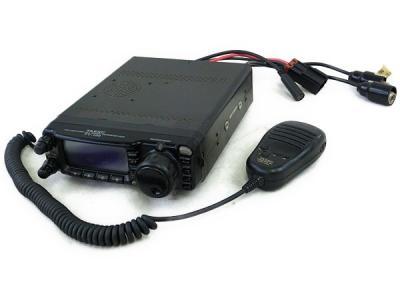 YAESU 八重洲 FT-100 無線機 トランシーバー マイク付