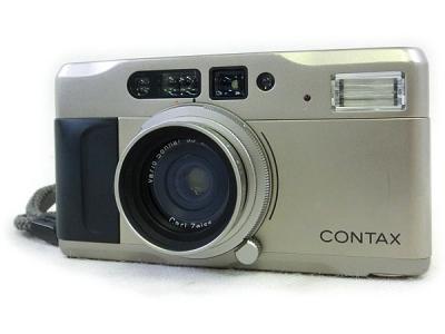 CONTAX 京セラ コンパクト カメラ T VS 28-56mm 3.5-6 フィルムカメラ