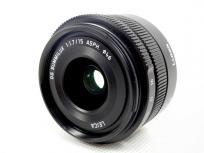 Panasonic H-X015 LEICA DG SUMMILUX 15mm f1.7 ASPH レンズ