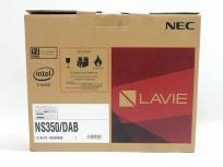 NEC LAVIE Note Standard NS350/DAB PC-NS350DAB ノートPC 15.6型 Corei3/4GB/HDD:1TB クリスタルブラック