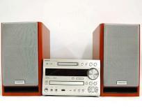 ONKYO X-N7SX CD/MD チューナー アンプ システム コンポ オーディオ セットコンポ MDコンポ