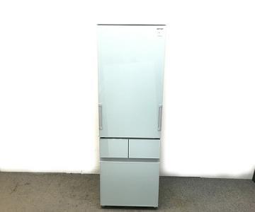 SHARP シャープ SJ-GT41B-G 冷蔵庫 410L フロストグリーン