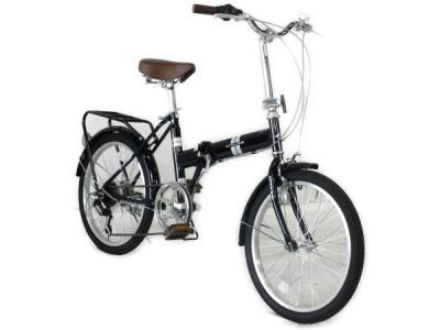 アサヒサイクル クレイズ OHB206 折り畳み 自転車 ブラック 20型