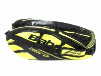 Babolat バボラ PURE AERO / Black Yellow 12本収納