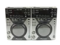 Pioneer CDJ400 DJ ミキサー ペア セット 音響機材