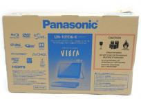 Panasonic パナソニック VIERA プライベート・ビエラ UN-10TD6-K ブラック 10V型 ポータブルテレビ