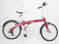 DAHON/ダホン Route/ルート 折りたたみ自転車 20インチ 6段変速 ルビーレッド 商品になります。