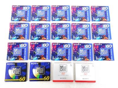SONY MD ディスク 60分 19枚 セット MDW-60 他 TV・オーディオ・カメラ 消耗品・各種部品 その他