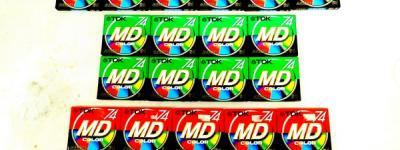 TDK MD 74分 27枚セット MD-XG74CB(G,Y)他