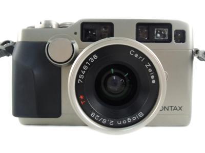 CONTAX G2 + Carl zeiss Biogon 2.8/28 T ボディ カメラ