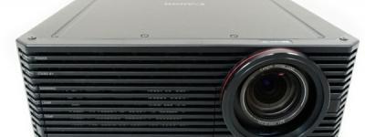 Canon キャノン 4K500ST パワー プロジェクター 4K 超高精細 ブラック