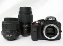 Nikon D5300 一眼レフ カメラ ダブルズーム キット カメラ・光学機器 オートフォーカス一眼レフ ニコン
