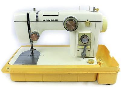 ジャノメ ミシン モデル 802 電動 本体のみ ソーイング 縫製