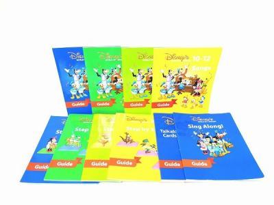 DWE ディズニー Guide book セット