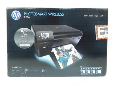 HP PHOTOSMART WIRELESS B110A インクジェット プリンター 複合機