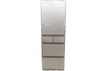 日立 R-S4200EL(XN) 左開き 5ドア 415L 冷蔵庫 ファミリータイプ キッチン家電 冷蔵庫 366リットル〜420リットル(4人用) 日立大型