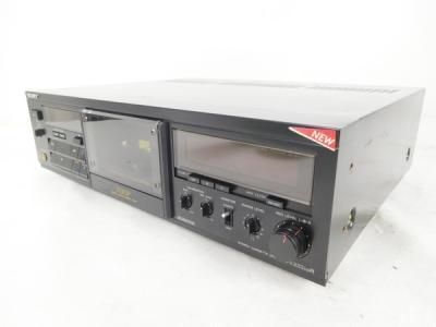 SONY ソニー 333ESR カセットテープデッキ レコーダー 黒 オーディオ機器