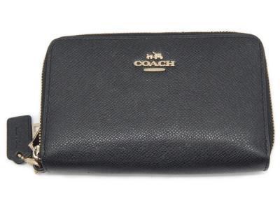 コーチ COACH 携帯ケース 63112 レザー ブラック