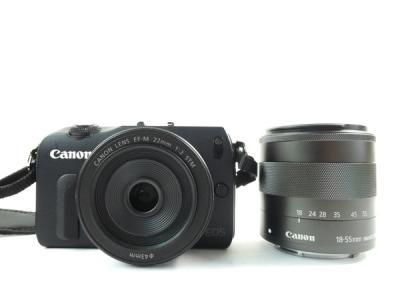 Canon EOS M ダブルズーム レンズキット カメラ