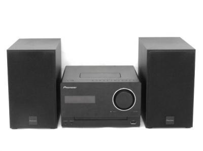 Pioneer パイオニア X-CM31-K コンポ CD/iPod/iPhone/iPad ブラック