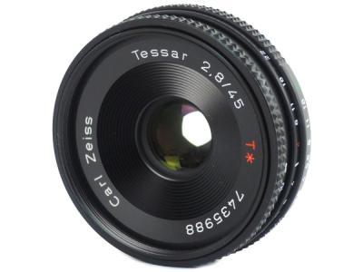 CONTAX Carl Zeiss Tessar T* f/2.8 45mm レンズ 一眼