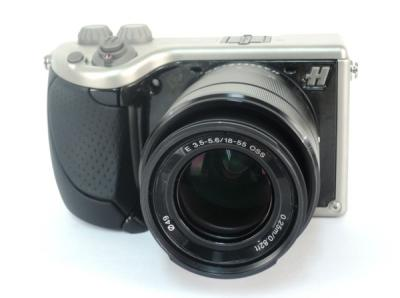 Hasselblad Lunar Black Leather With 18/55 LENS ミラーレス一眼 ルナ レンズキット