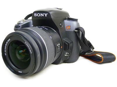 SONY 一眼レフカメラ α550 レンズ DT 18-55mm F3.5-5.6