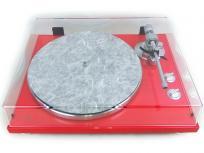 TEAC TN-300 USB対応 レコードプレーヤー ターンテーブル 赤系 アナログプレーヤー スカーレット