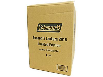Coleman シーズンズランタン 2015 限定版 ライト