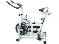 HAIGE フィットネスバイク HG-YX-5006A ホワイト 運動 大型