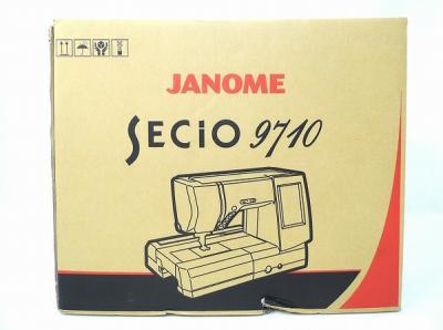 ジャノメ SECIO 9710 台 セット ミシン 家電