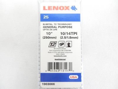 レノックス 1903066 050R 250mm 10/14 ブレード 25枚入 2個セット