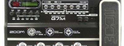 ZOOM G7 G7.1ut ギター マルチ エフェクター