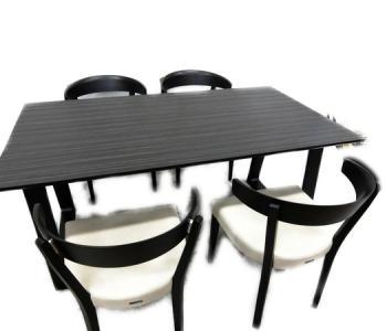 カリモク DA5080ZW CA3700W531 イス ダイニング テーブル 4脚セット 家具 インテリア デザイナーズブランド大型