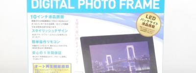 KEIAN KDPF10022B デジタルフォトフレーム