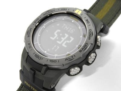 CASIO プロトレック PRW 3100G 3JR タフソーラー メンズ