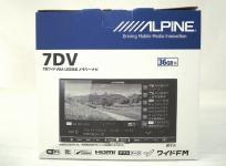 アルパイン ALPINE 7DV 7型 180mm カーナビ スタンダード