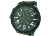 NIXON TH51-30 クロノグラフ メンズ 腕時計 ブラック