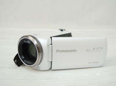 Panasonic パナソニック ビデオカメラ HC-V360M ホワイト デジタル ハイビジョン