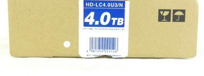 バッファロー HDD DriveStation 4TB HD-LC4.0U3/N PC 周辺機器 ポータブル ドライブ パソコン 外付け USB ハードディスク